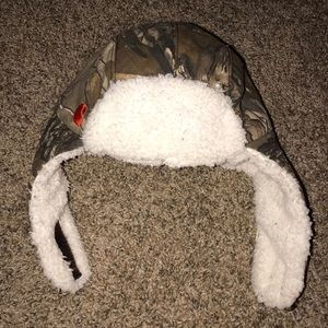 Carhartt Hat Camouflage Realtree White Fleece